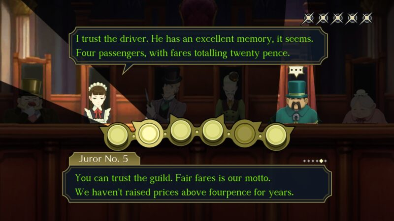 The Great Ace Attorney Chronicles jury 2