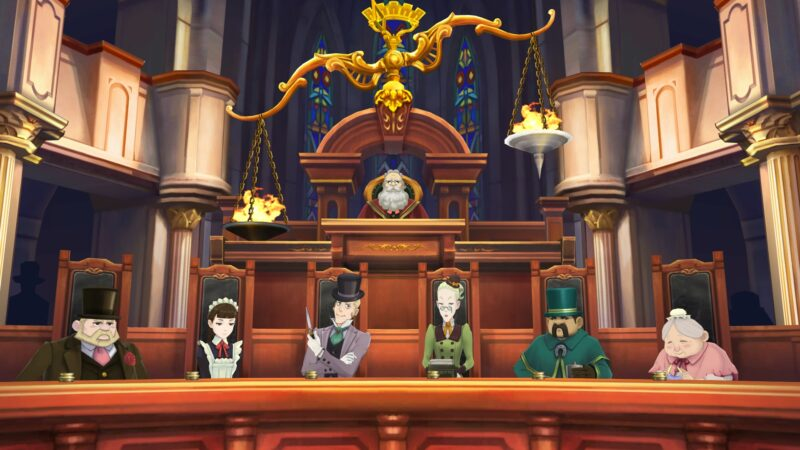 The Great Ace Attorney Chronicles jury