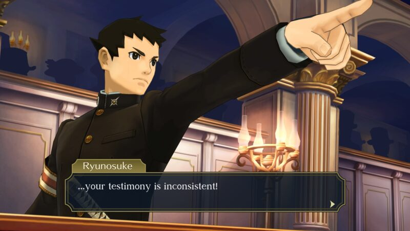 The Great Ace Attorney Chronicles ryu