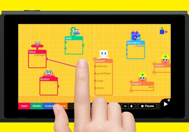 L'Atelier du jeu video concept