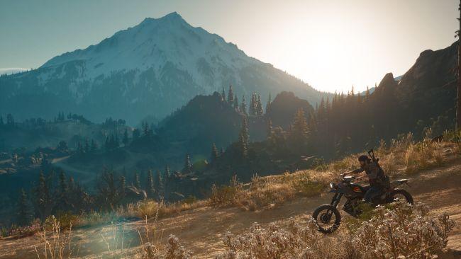 Days Gone Montagne Moto