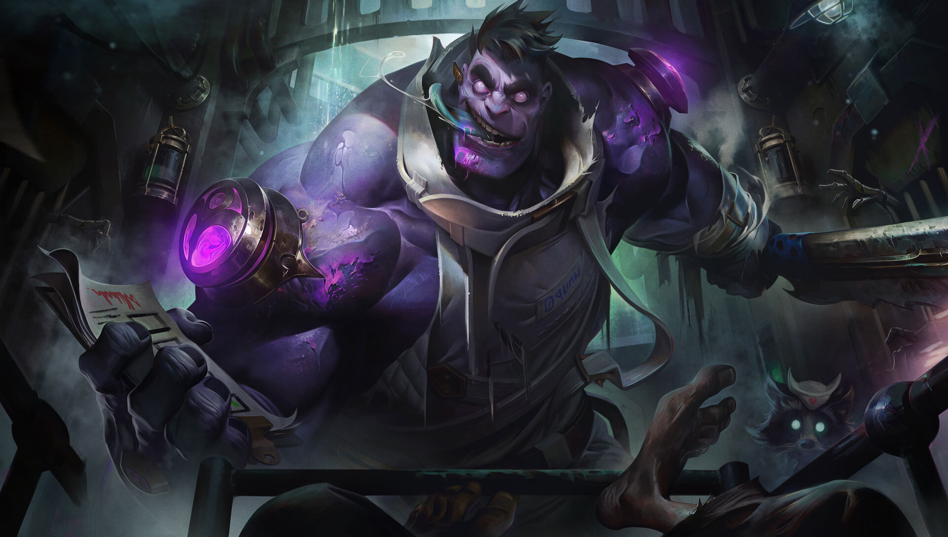 League of legends Dr. Mundo rework