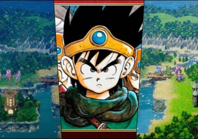 Dragon quest 3 2D HD Remake hero