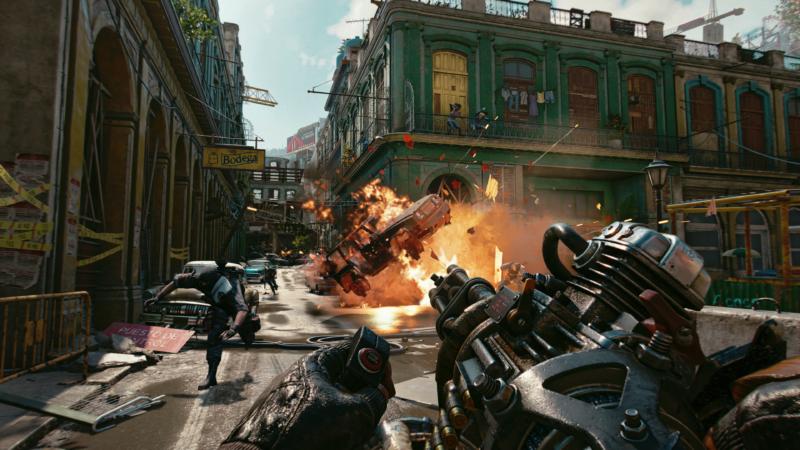 Far Cry 6 gunfight