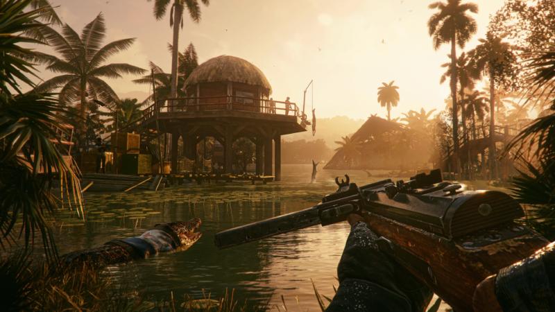Far Cry 6 crocodile