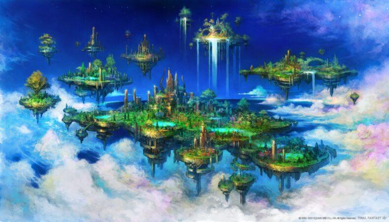 Final Fantasy XIV Endwalker - artwork