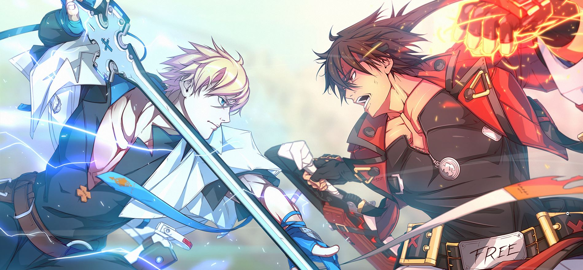 Guilty Gear Ky vs Sol