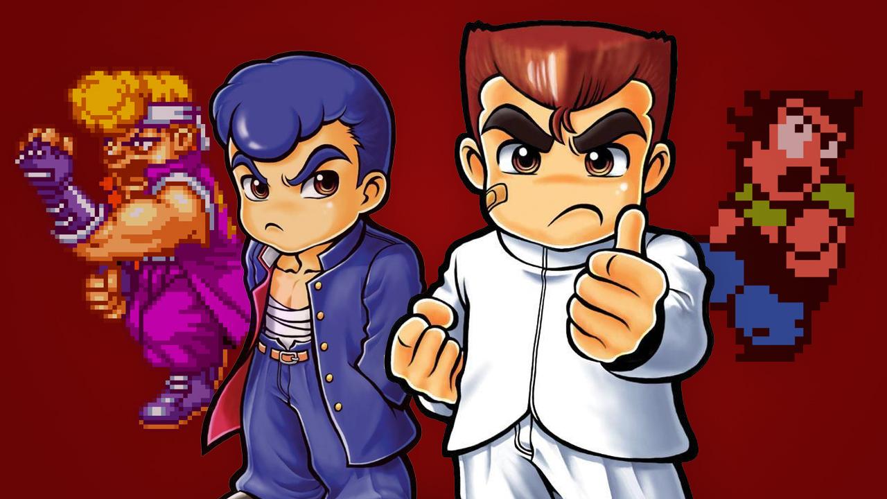 Kunio-kun personnages