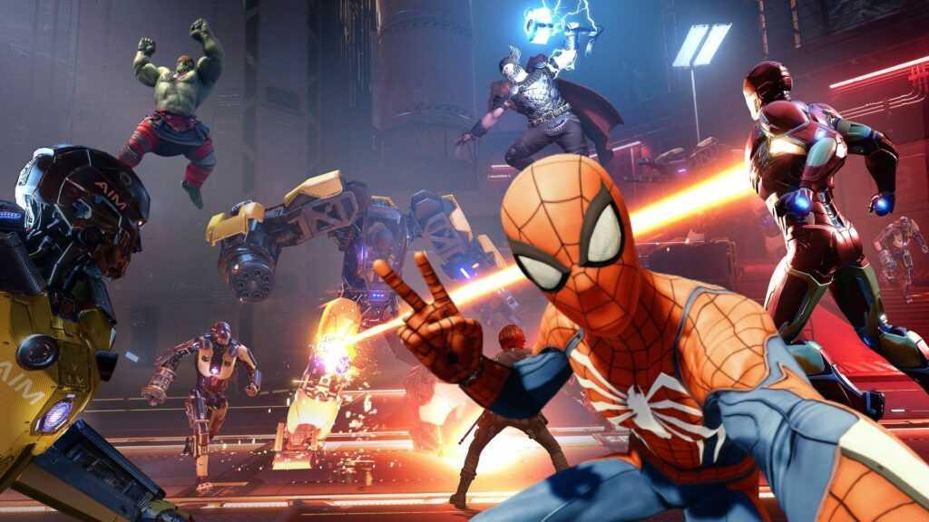 Marvel's Avengers spider man