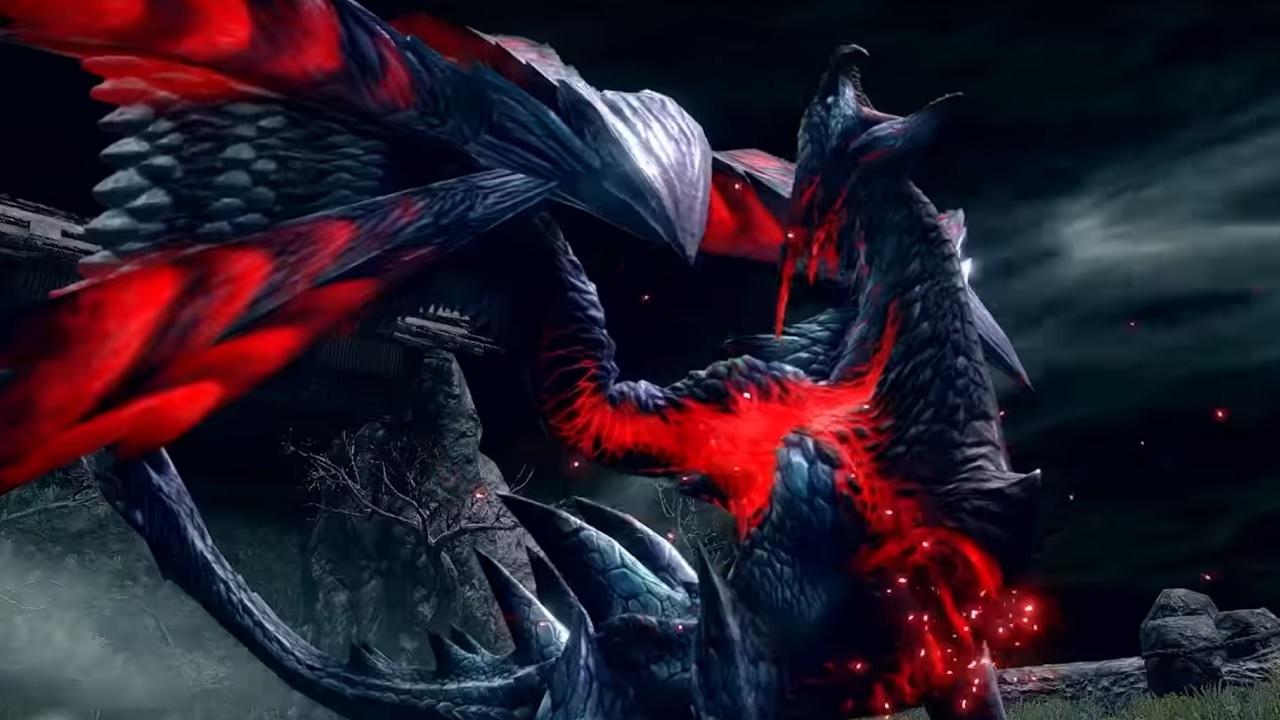 Monster hunter rise Valstrax