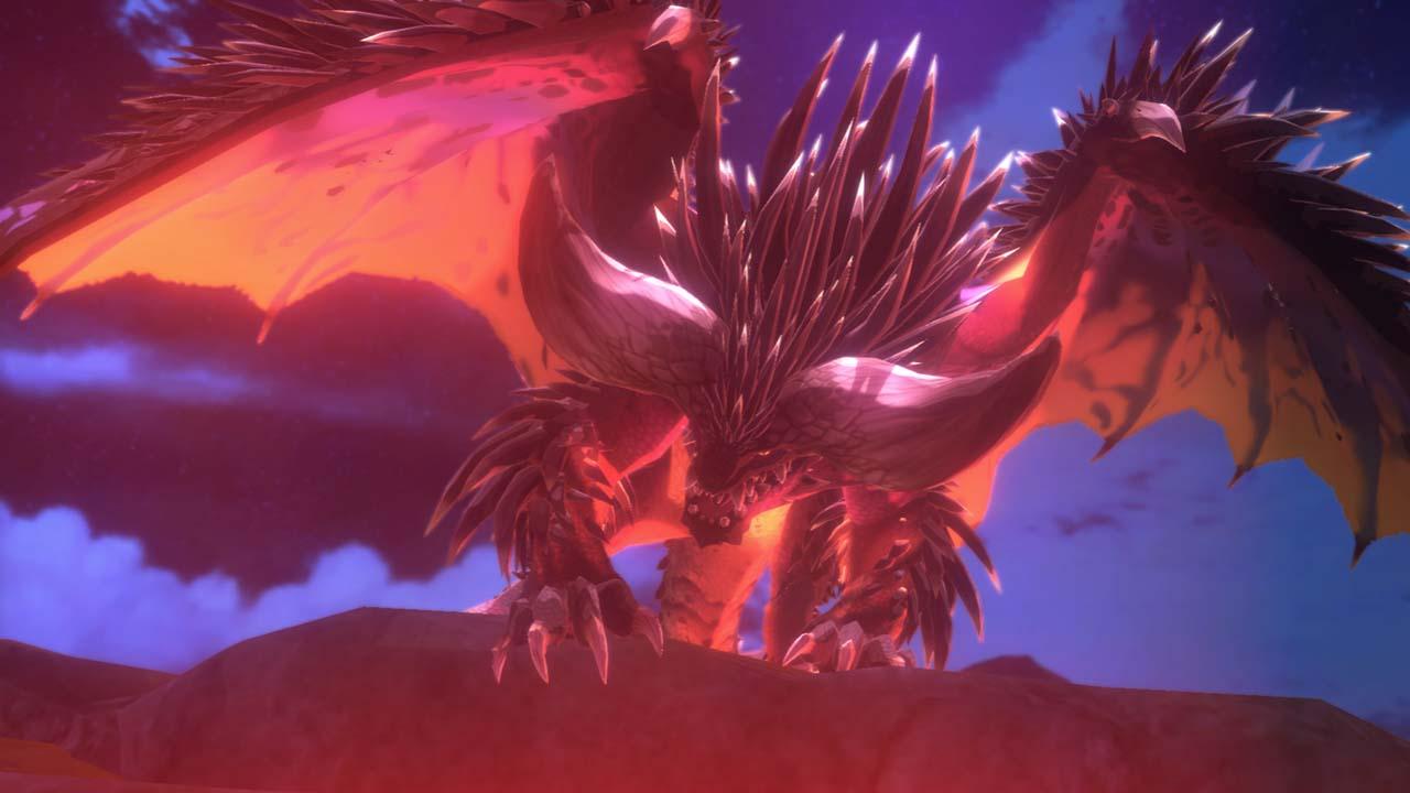 Monster hunter stories dragon
