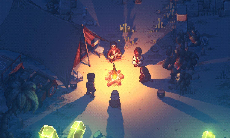 Pathway bonfire