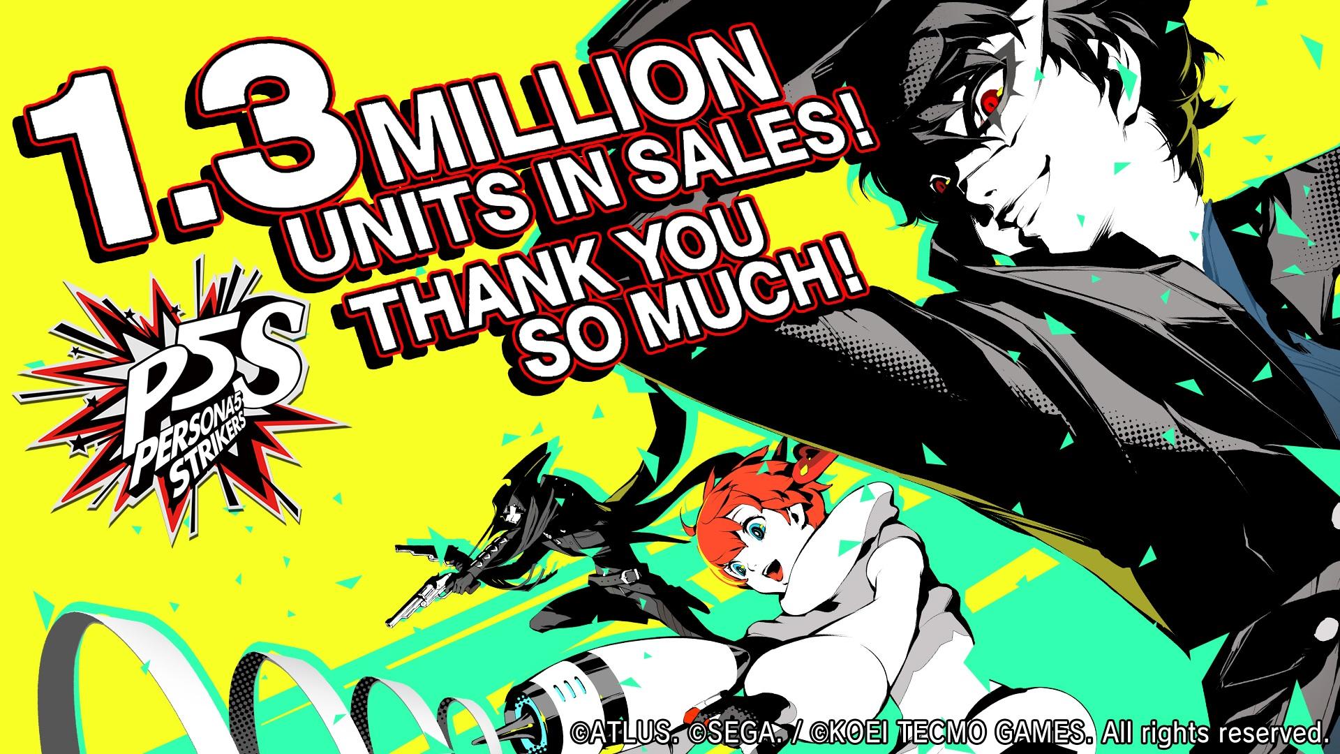 Persona 5 Strikers - ventes