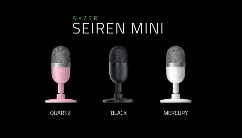 Razer Seiren Mini 3 coloris