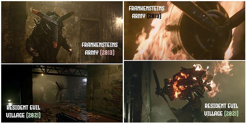 Resident Evil Village Plagiat
