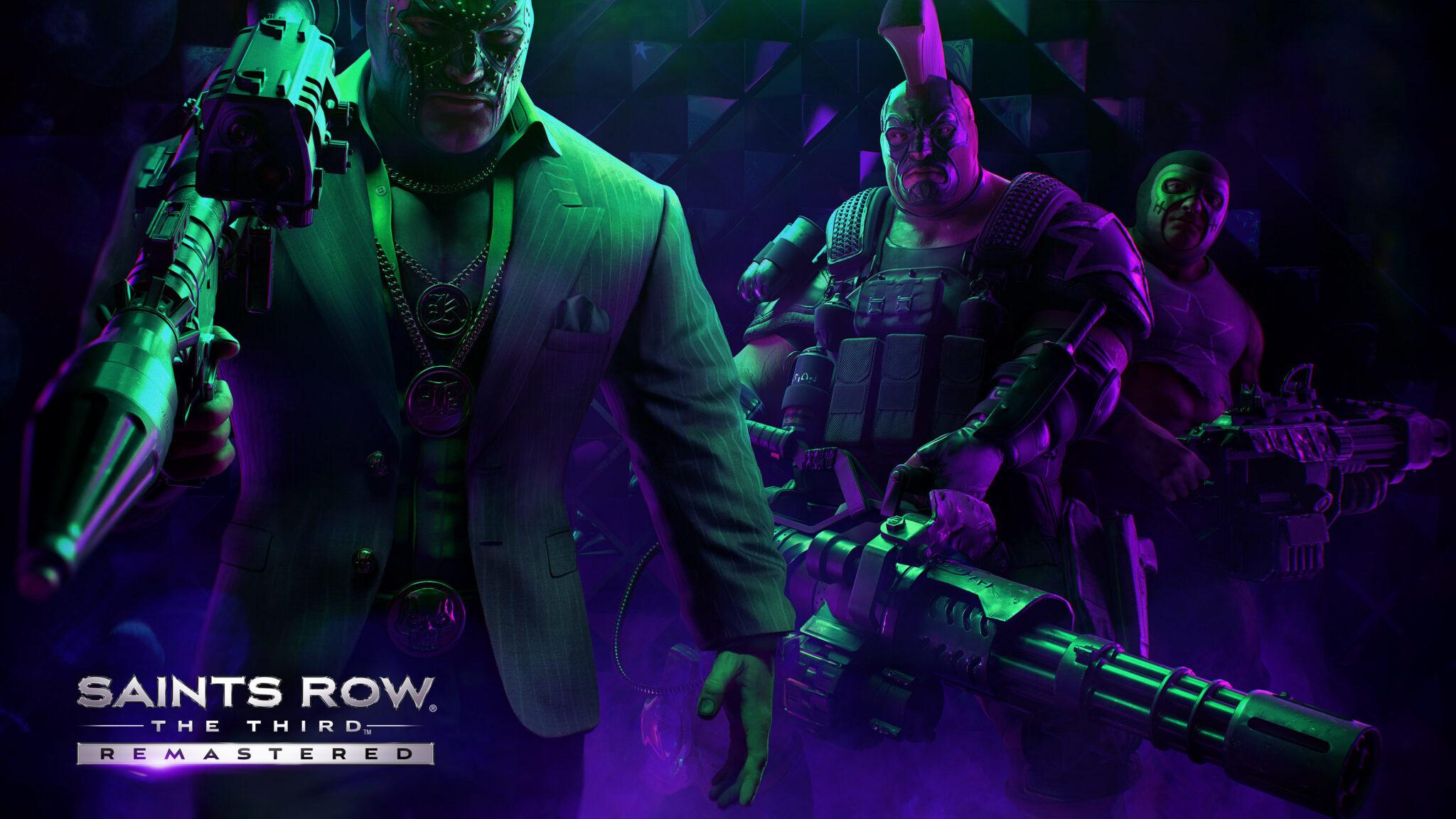 Annonce du jeu Saints Row The Third Remastered sur PS5 et Xbox Series