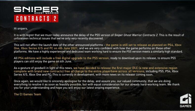 Sniper Ghost Warrrior Contracts 2 retard