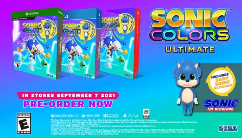 Sonic Colors Ultimate précommande