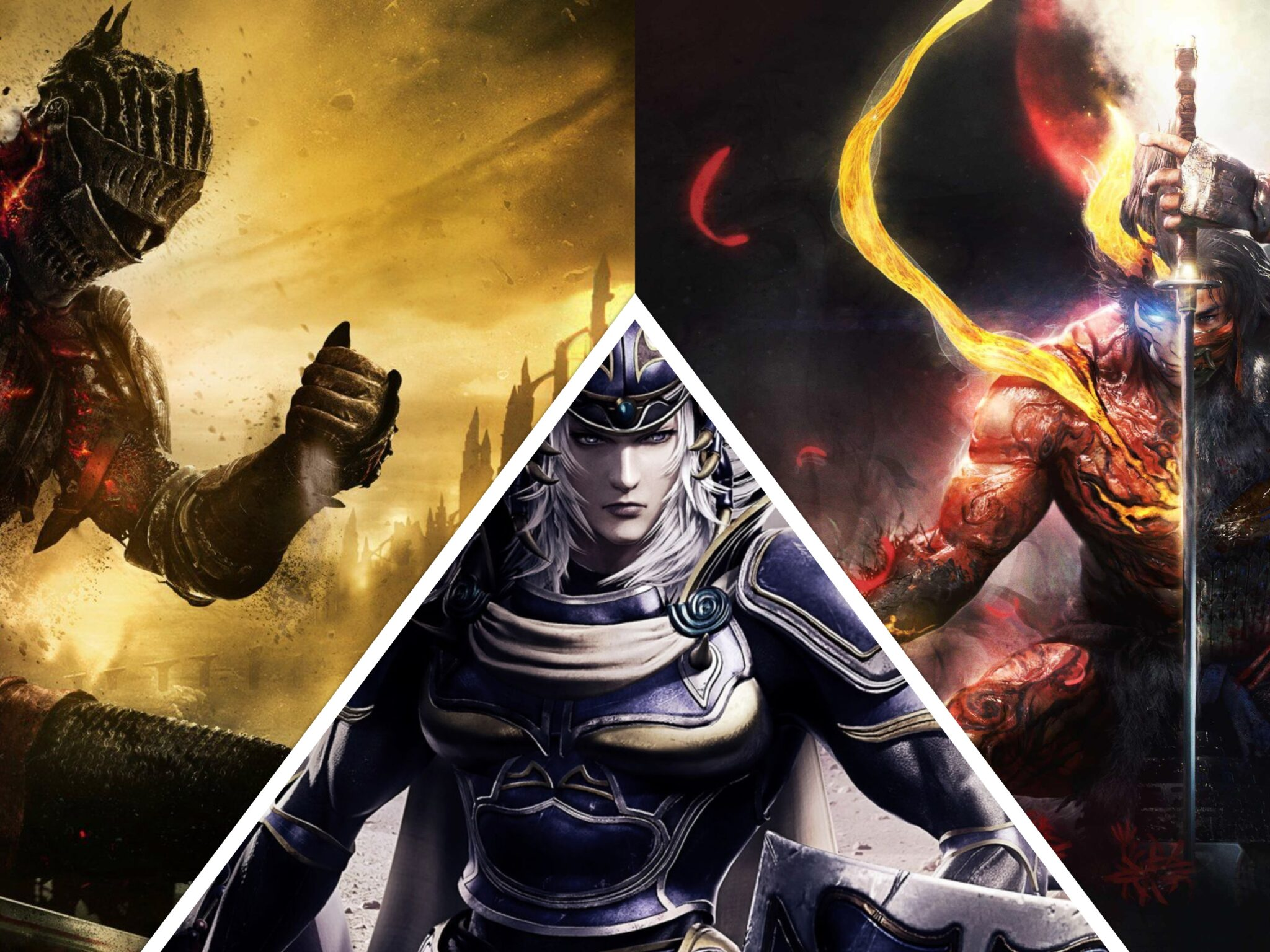 Final Fantasy TEam Ninja Souls like