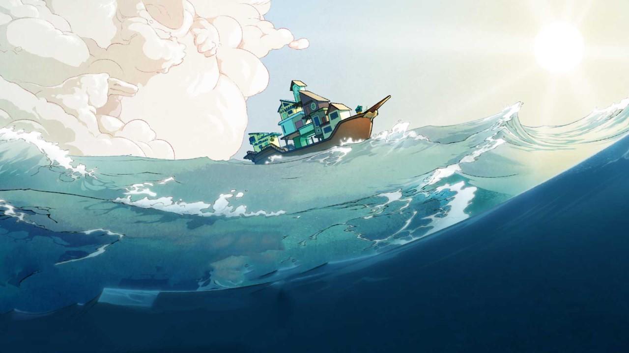 Spiritfarer soleil et mer
