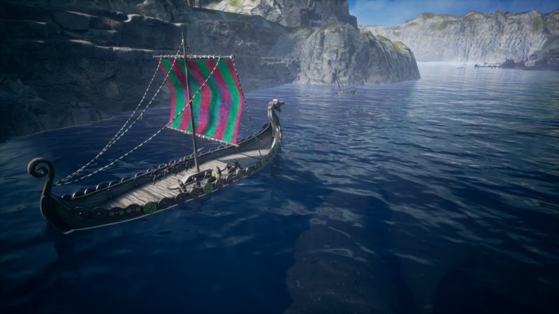 Frozenheim exploration drakkar
