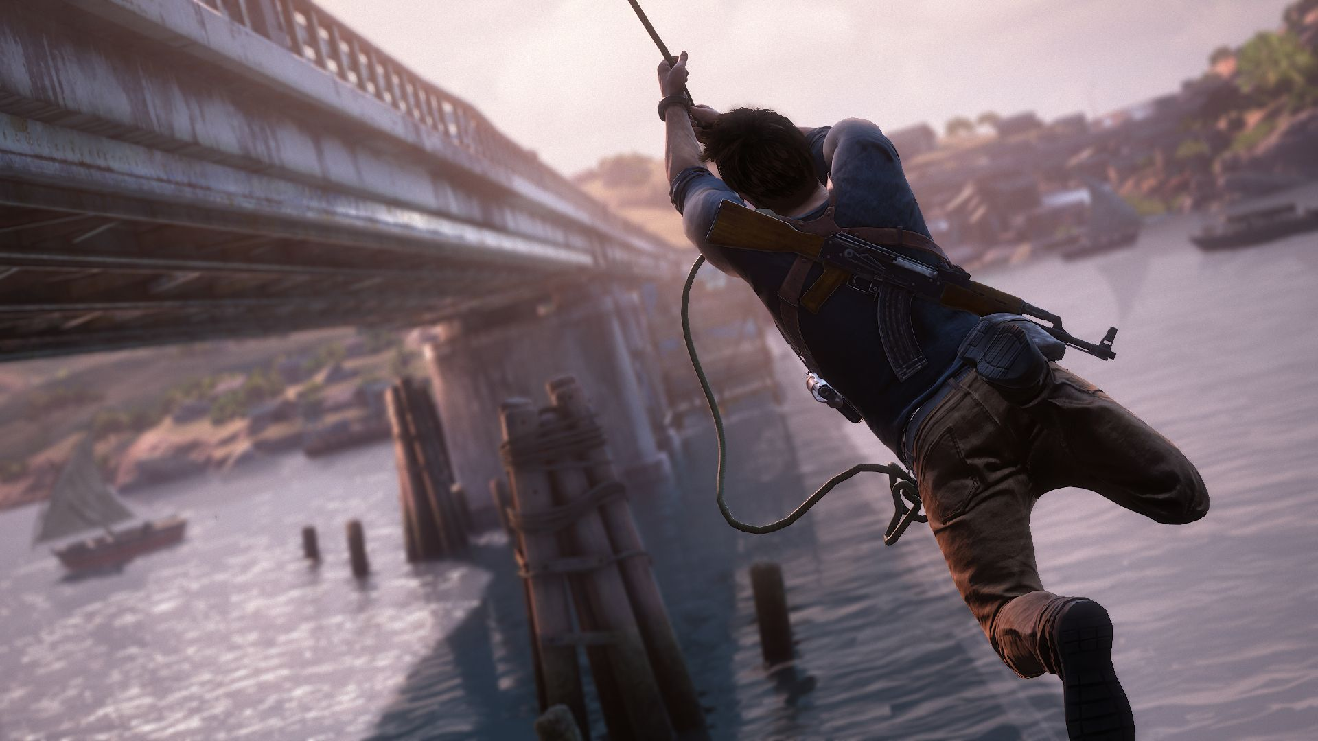 Uncharted 4 PC rope