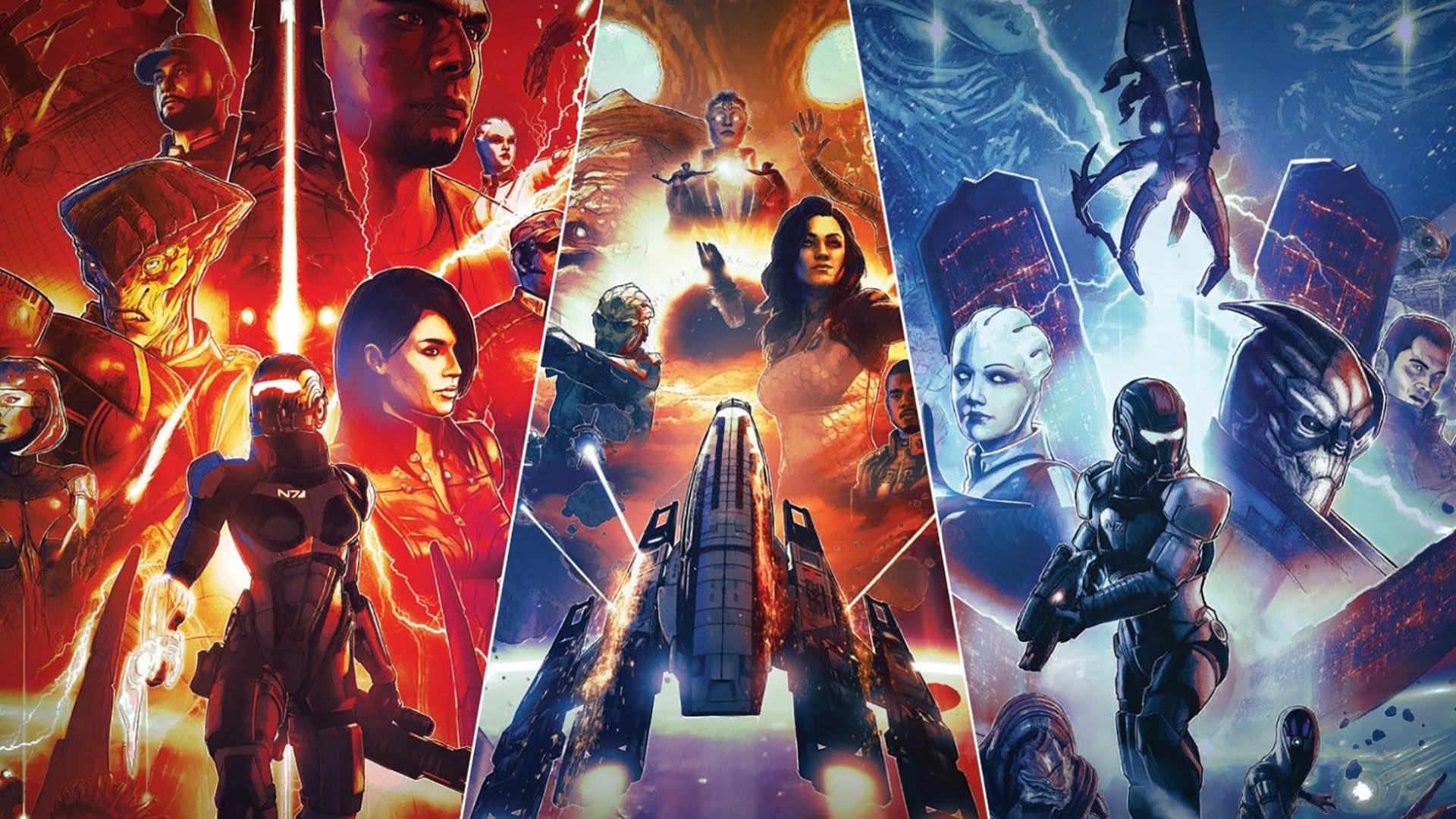 Mass Effect Édition Légendaire artwork trilogie