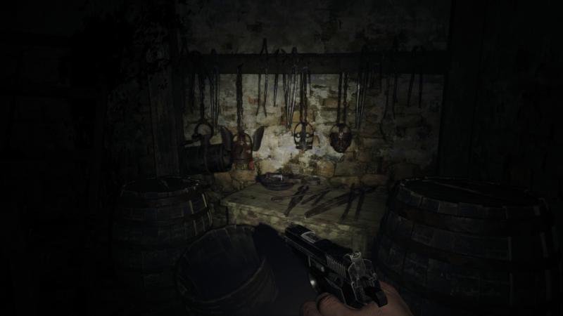 resident evil village catacombes