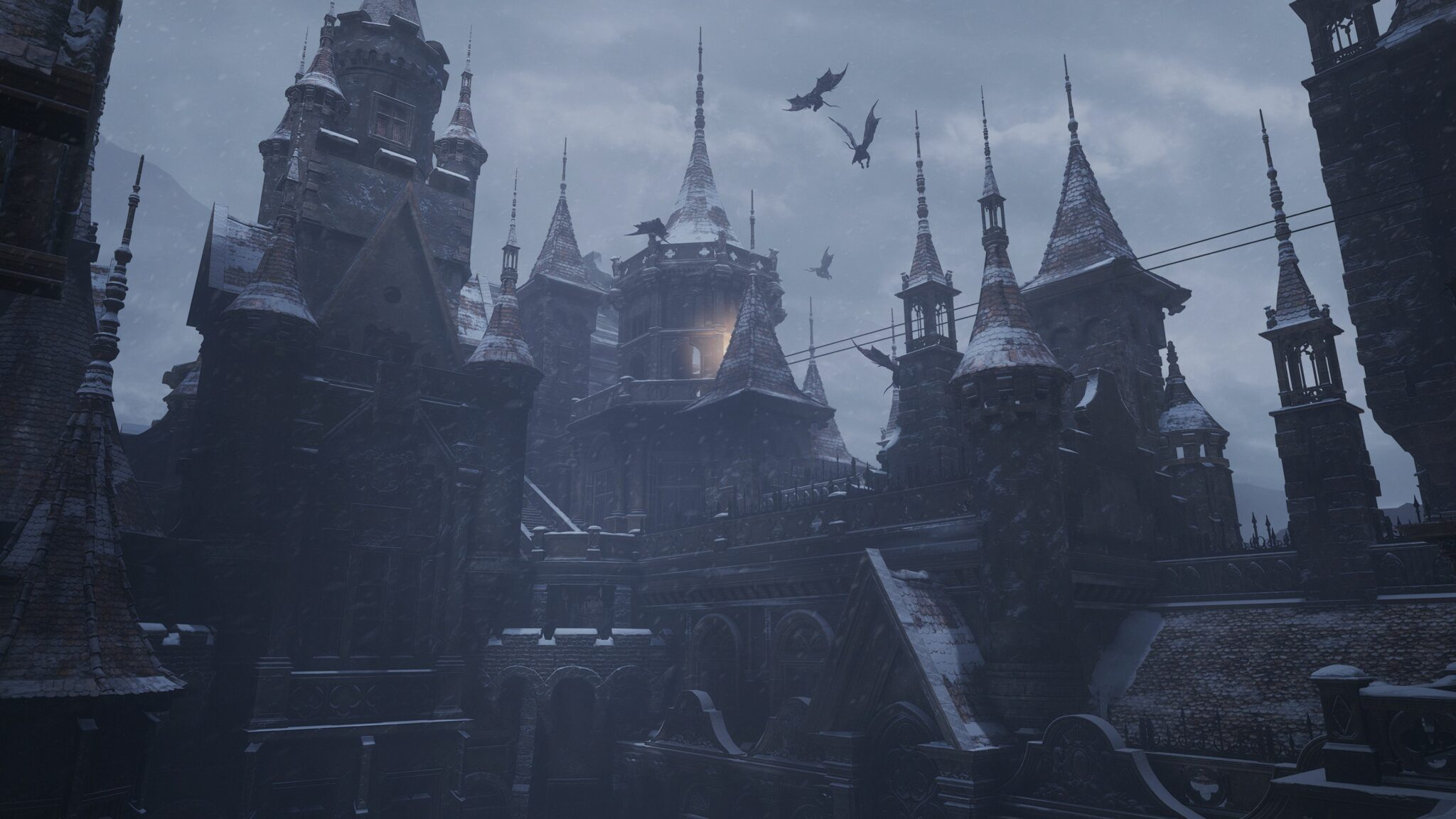 resident evil village chateau