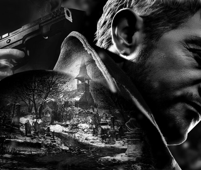 Resident Evil Village artwork test une