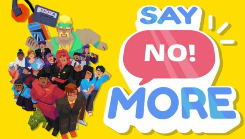 say No More Logo