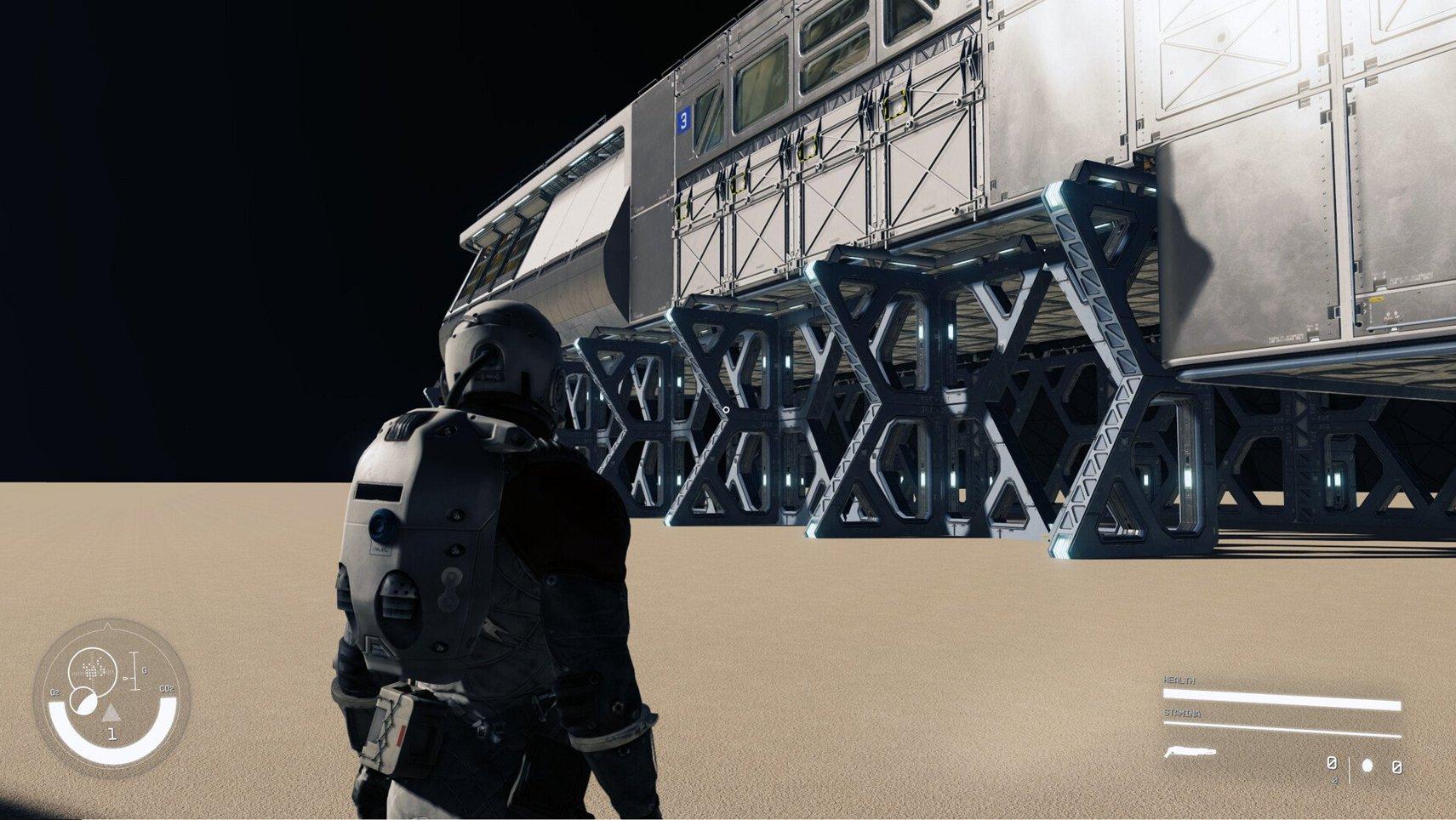 Starfield gameplay fuite
