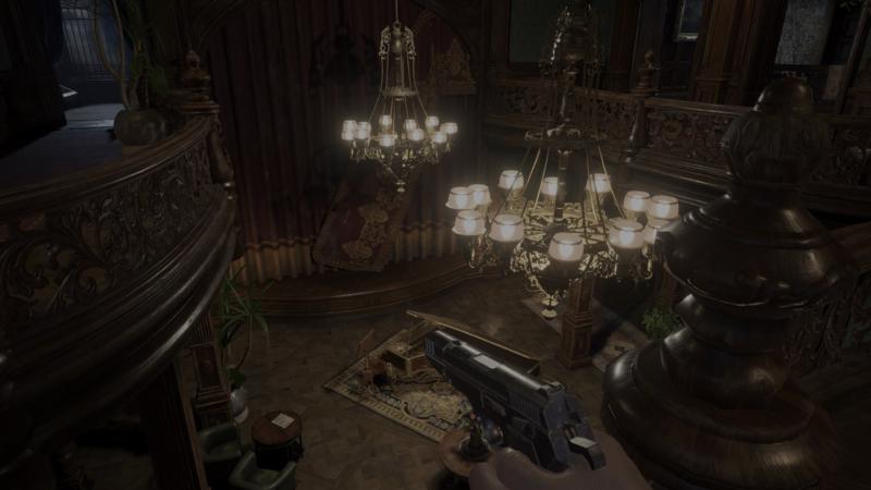 Resident Evil Village piano