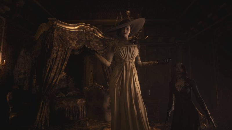 Resident Evil Village dimitrescu fille