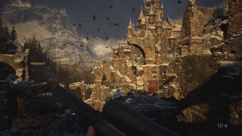 Resident Evil Village forteresse