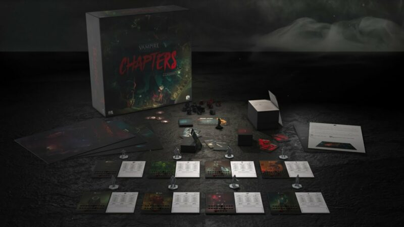 Wraith: The Oblivion - Afterlife vampire board