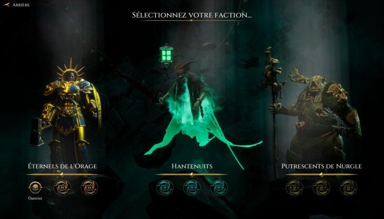 Warhammer Age of Sigmar : Storm Ground faction