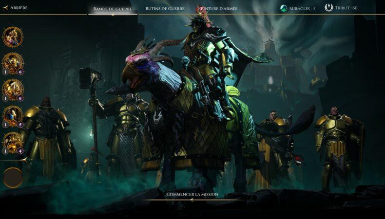 Warhammer Age of Sigmar : Storm Ground troupe