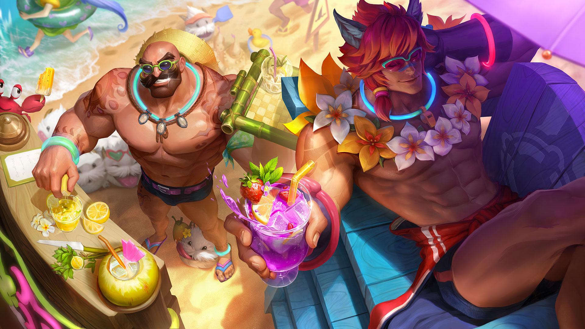 Braum et sett summer league of legends