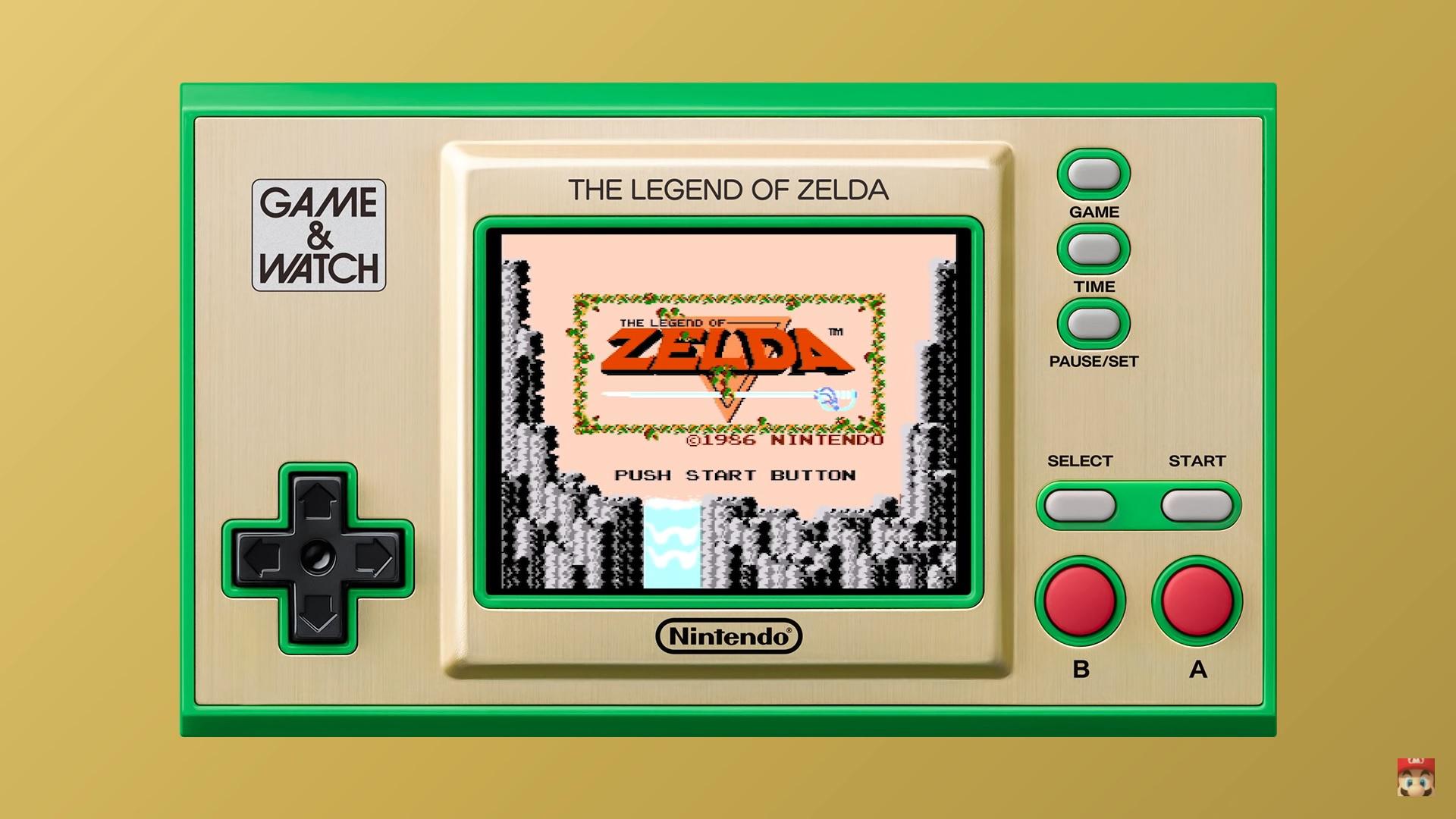 Game & Watch: The Legend of Zelda - Zelda 1