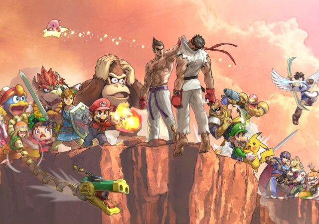 Kazuya Mishima Smash Bros Ultimate artwork