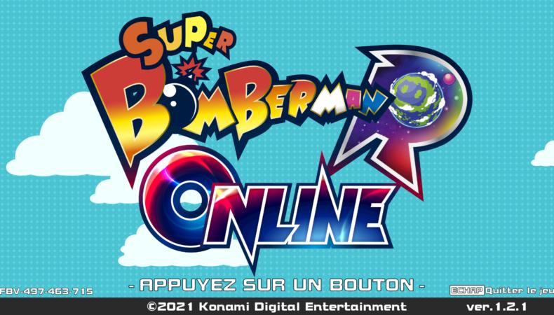 Super Bomberman R online logo