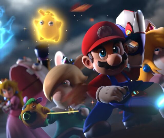 Mario + The Lapins Crétins: Sparks of Hope - Assemble