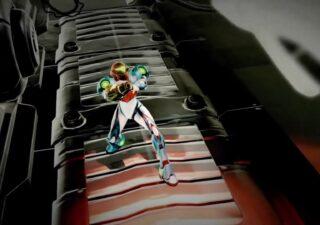 Metroid Dread - Samus