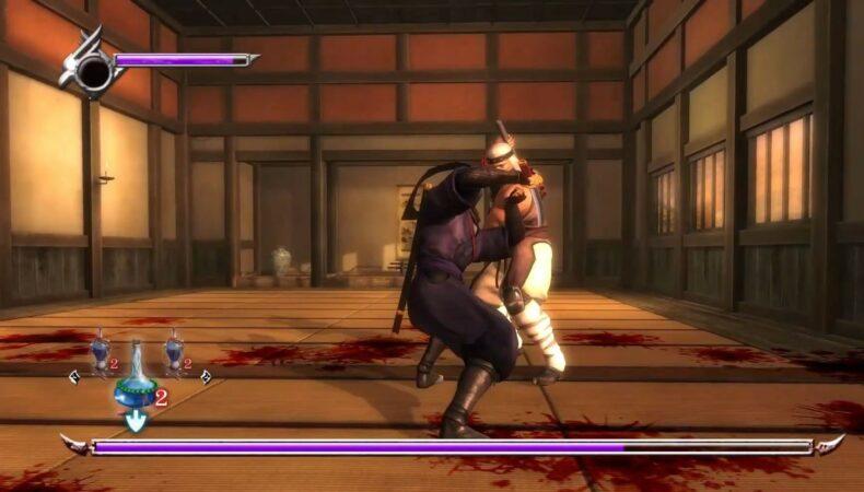 Ninja Gaiden Master Collection boss battle
