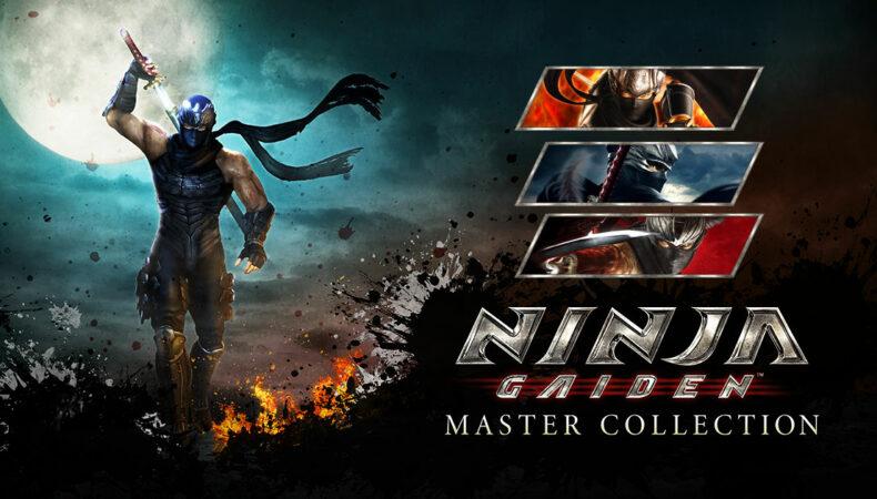 Ninja Gaiden Master collection logo