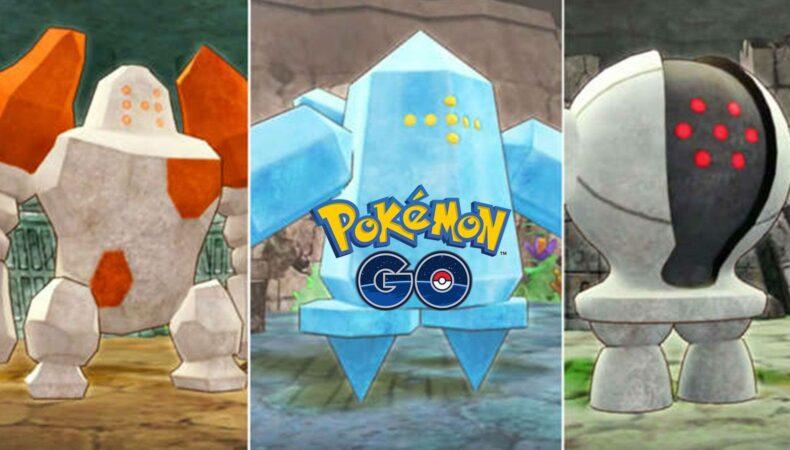 Pokemon go Regice Regirok Registeel