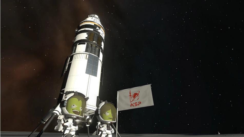 Kerbal Space Program 2 fusée