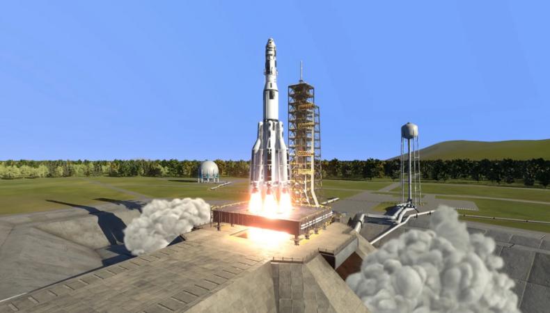 Kerbal Space Program 2 décollage