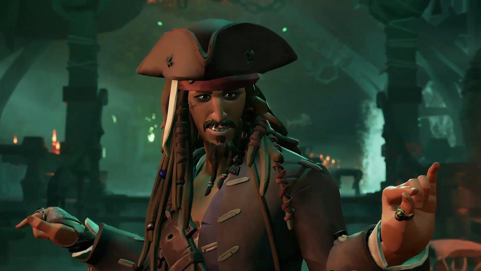 Sea of Thieves saison 3 Jack Sparrow